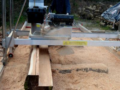 Peterson Mobile sawmill