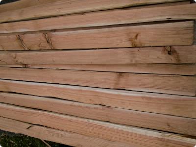Riven Red Cedar Boards