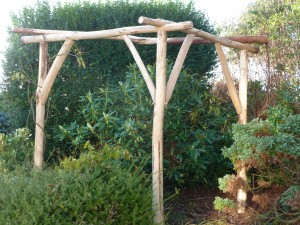 Handcrafted Wood - Wisteria Support