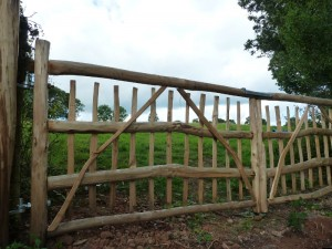 Handcrafted Wood - Cleft Chestnut Field Gates