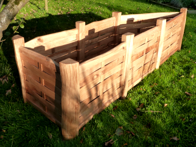 Very Large Bespoke Oak Planter