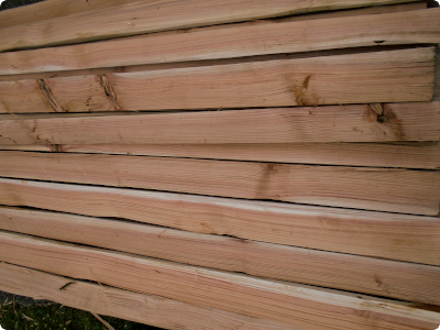 Riven Red Cedar Boards